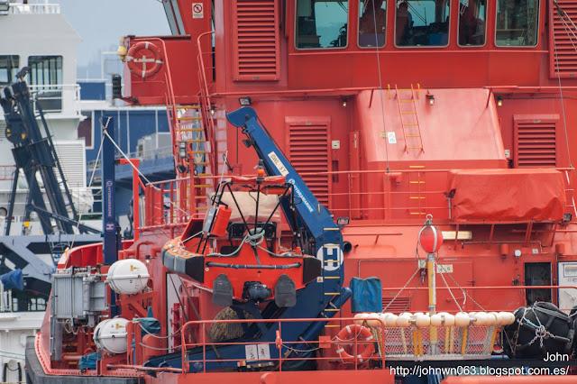 maria pita, salvamento marítimo, remolcador, puerto de vigo