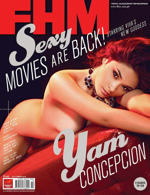Turtz on the Go: Yam Concepcion Covers FHM Philippines ...