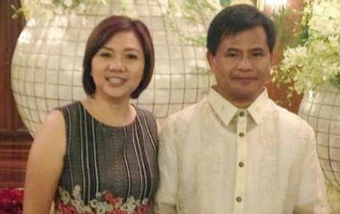 Mrs. Josie Tallado and Gov. Egay Tallado