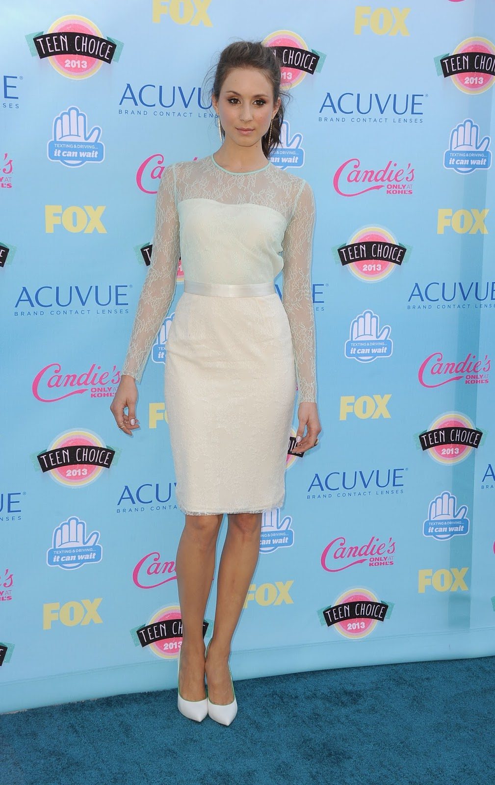 red carpet dresses troian avery bellisario teen choice