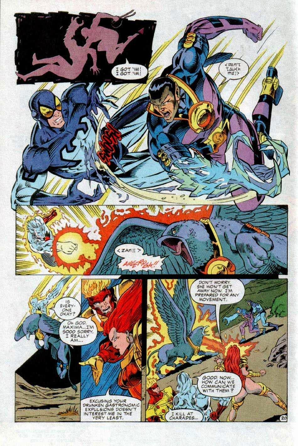 Comicsverse extreme justice devo aggiungere altro