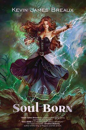 SOUL BORN cover