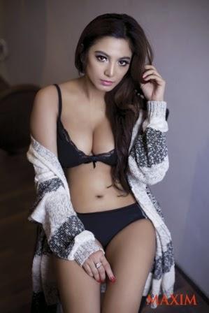 Foto Sexy Hot Sisi Salsabila MAXIM Indonesia 201