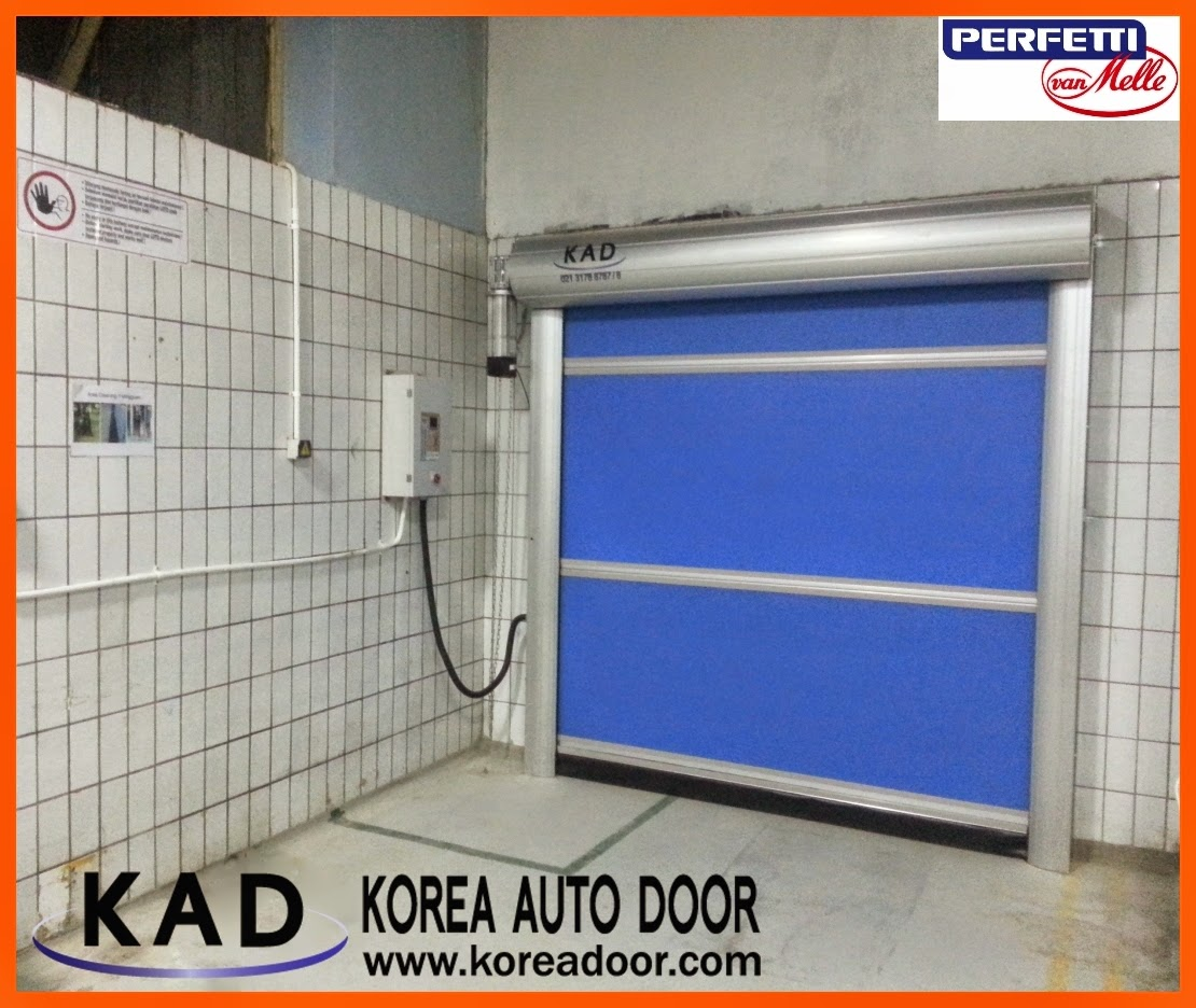 Mentos company named perfetti van melle selected kad high speed doors due to its excellent spec and function.