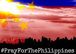#PrayForThePhilippines