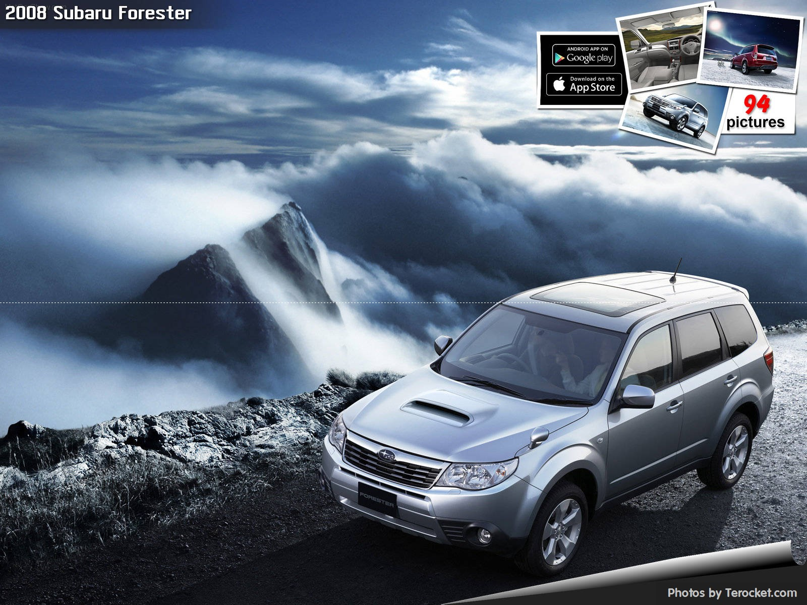 Hình ảnh xe ô tô Subaru Forester 2008 & nội ngoại thất