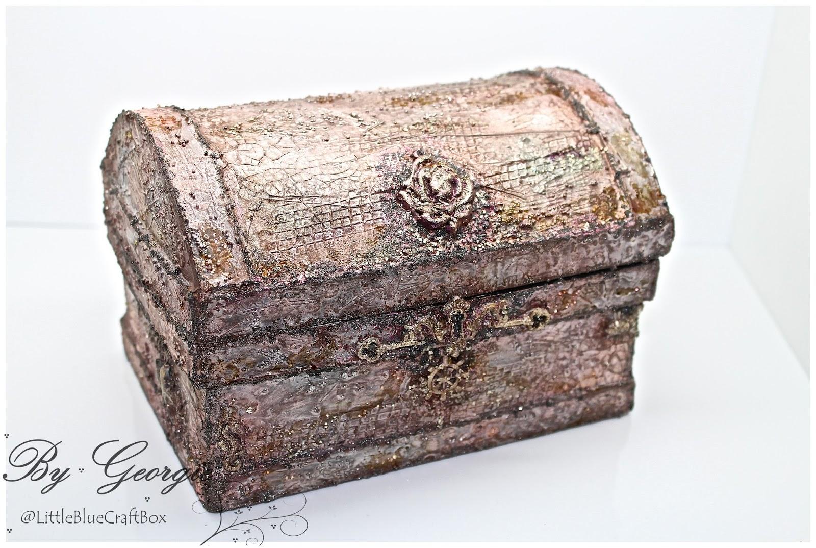 treasures of the sea mixed media treasure chest georgie c