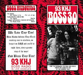 KHJ Boss 30 No. 153 - The Real Don Steele with Tiny Tim