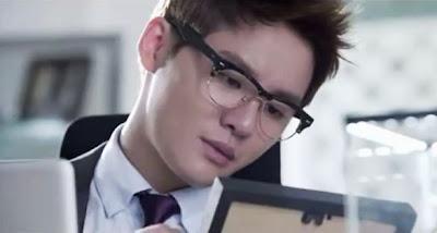JYJ In Heaven Junsu glasses hot