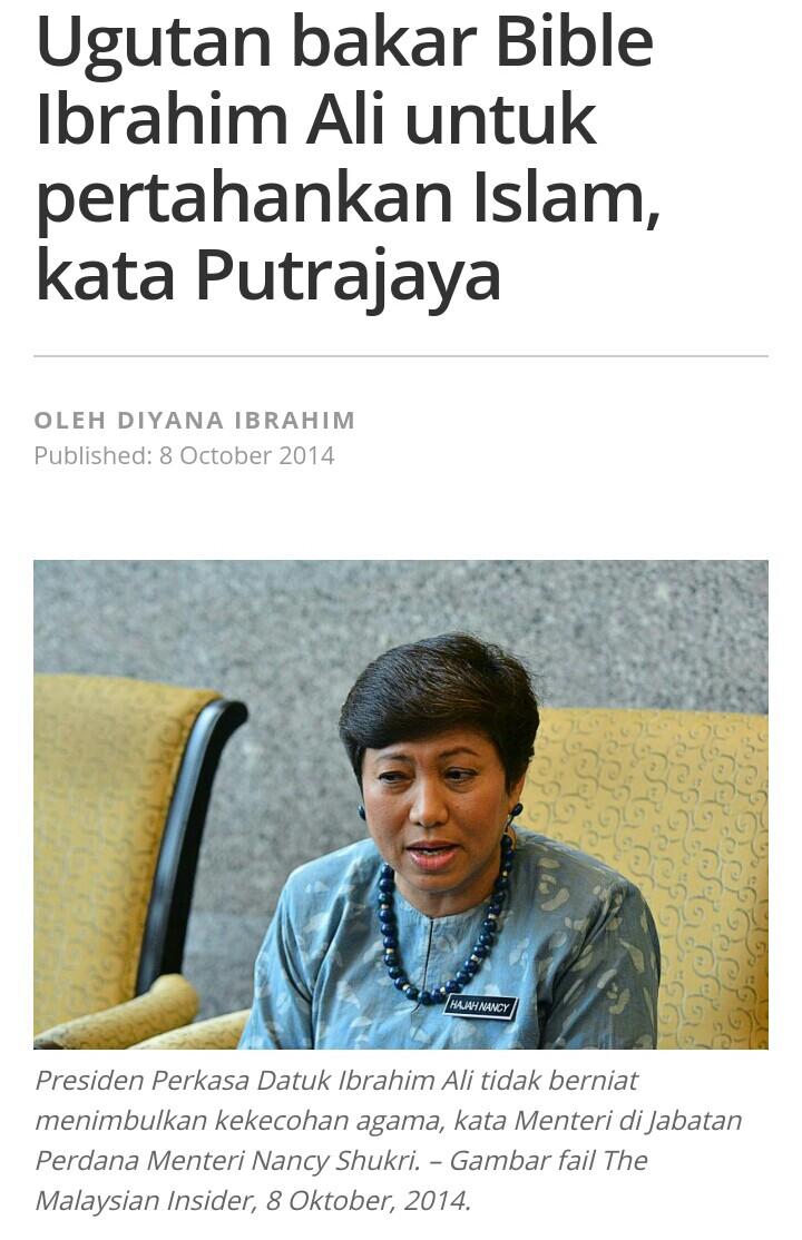 Akta Hasutan Putrajaya Pertahankan Ibrahim Ali Ds Anwar Bidas Menteri Di Jabatan Perdana Menteri