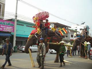 Hat Siao Elephant Festival