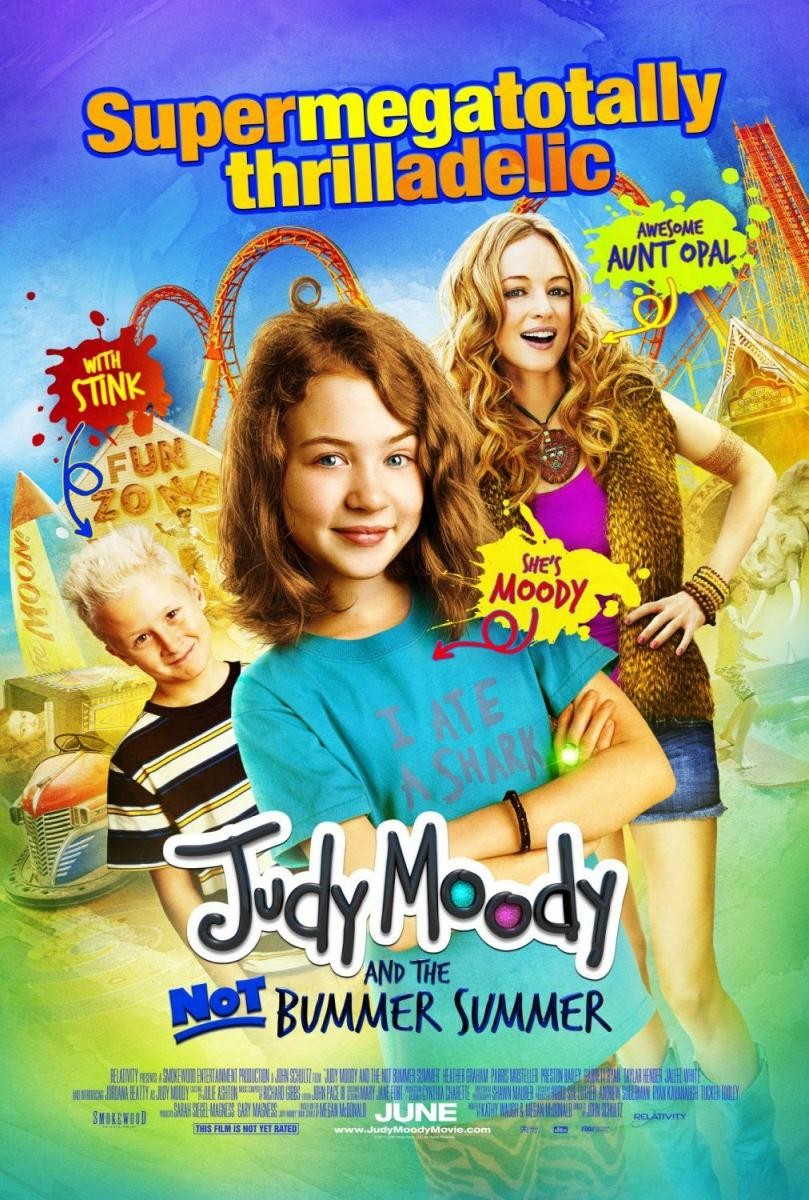 Ver Judy Moody And The Not Bummer Summer (2011) Online