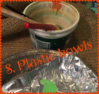 8. Plastic bowls