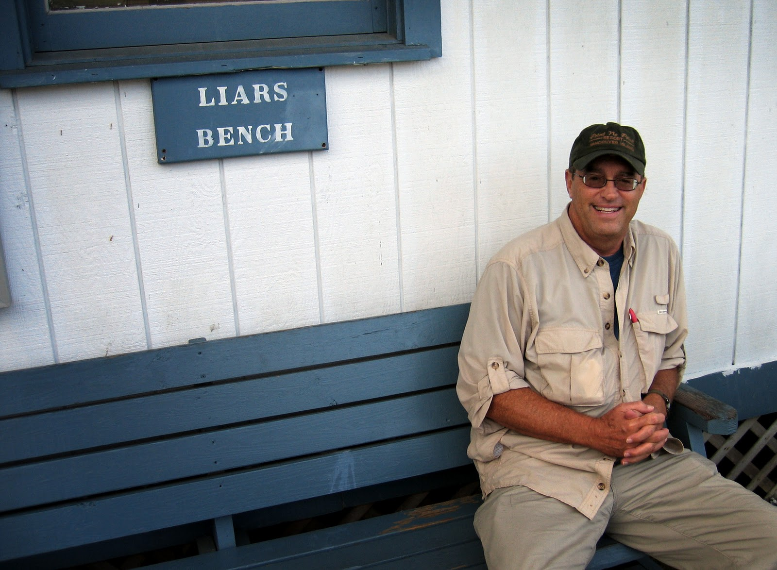 The Log Of Spartina The Liars Bench