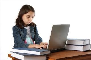 Child blogging