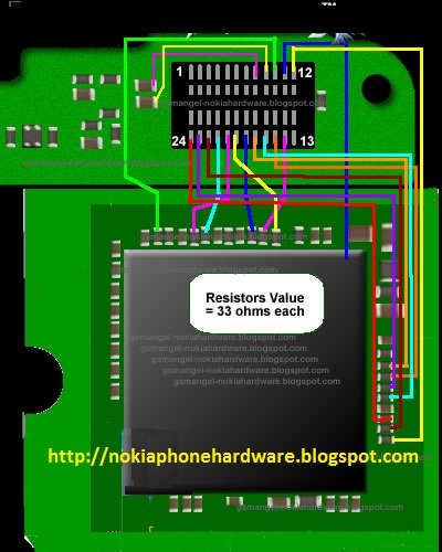 Nokia Phone Hardware  Nokia 2730c Lcd Screen Display Problem Fixed