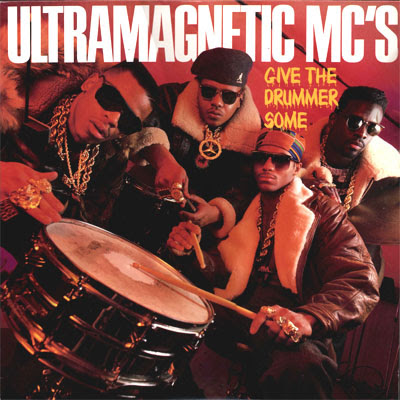 Ultramagnetic MC's – Give The Drummer Some / Moe Luv's Theme (VLS) (1989) (320 kbps)