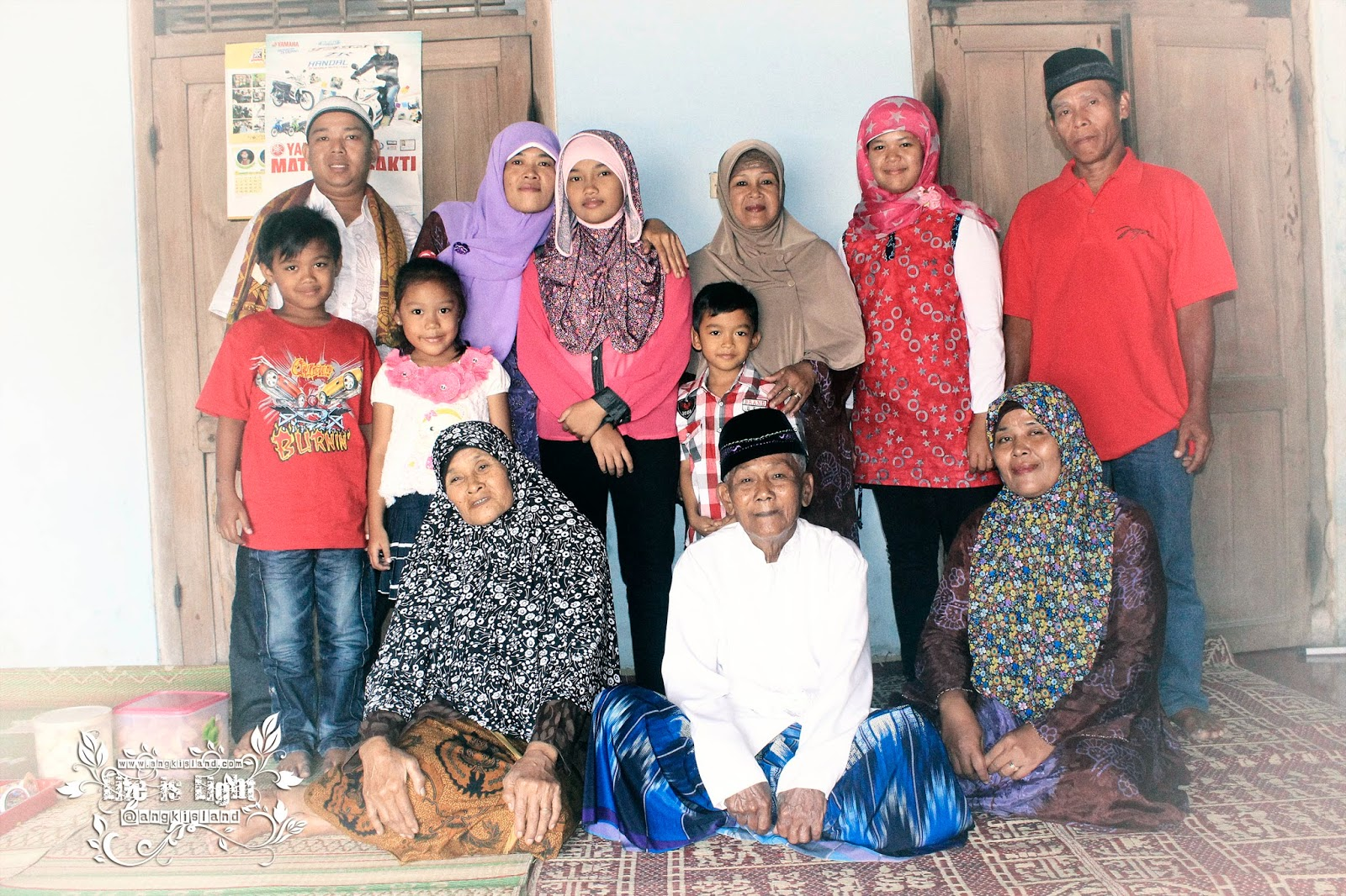 keluarga muhammad harun pelem gurih
