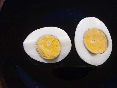 Cómo hacer huevo cocido