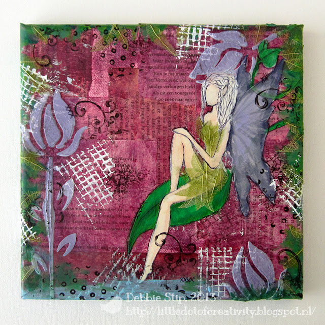 Mixed Media Monday ~ Fairy