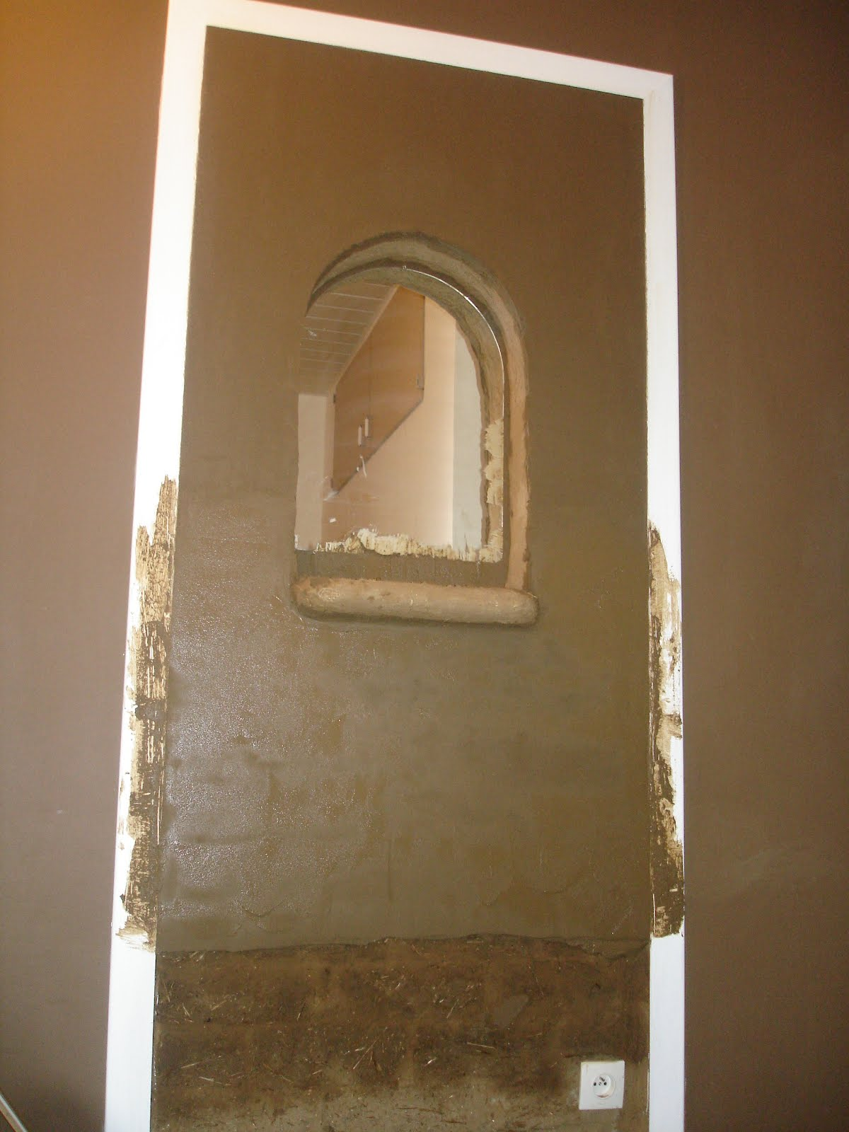 """La terre dans tous ses étages"""" Dans l ancienne porte de la chambre"""