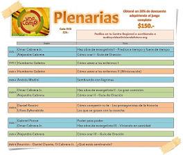 Plenarias del campa 2012