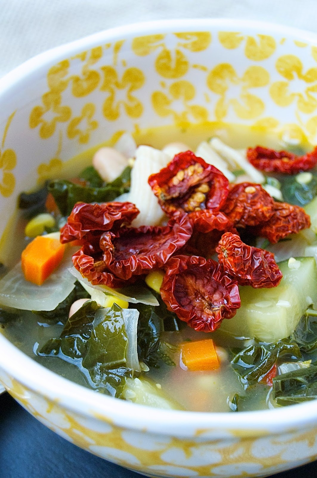 Early Fall Minestrone Soup