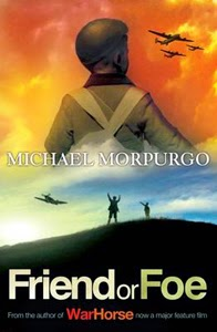 Portada británica de Friend or Foe, de Michael Morpurgo