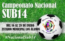 Sitio web del Campeonato Nacional  Sub 14