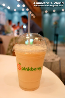 Pinkberry Banana Smoothie