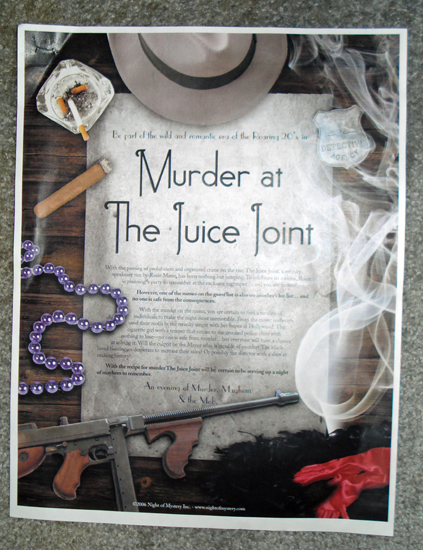 Gracie gets invited to a roaring 20 39 s Murder Mystery Party About 20