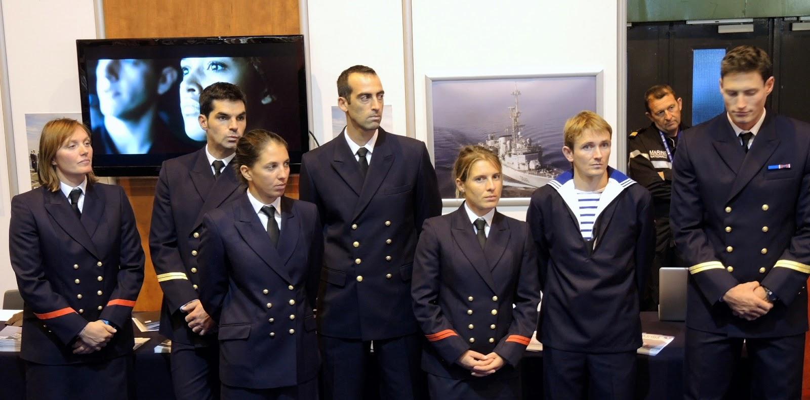 Lancement du Grand Prix de l'Ecole Navale 2015 au Salon Nautique.