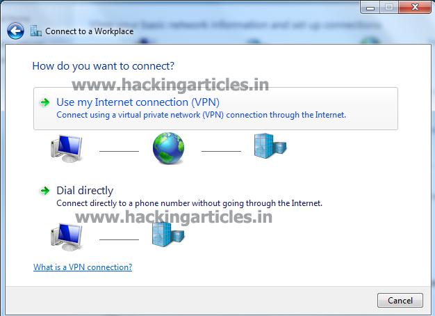 Penetration testing network home