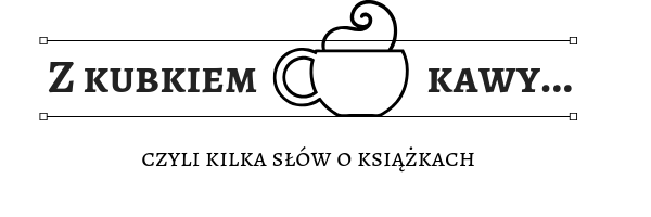 z kubkiem kawy...