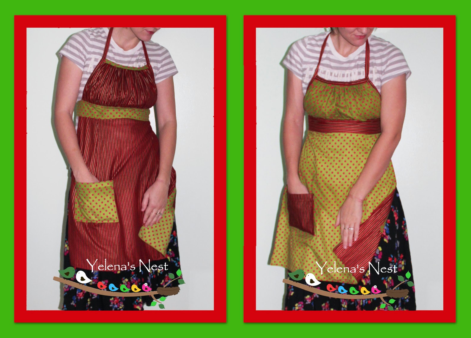White apron joann fabrics - For January I Made A Matryoshka Apron Not Really Winter Theme But I M Sure It Ll Be Ok As There Is Currently A Similar Matryoshka Apron Free Pattern