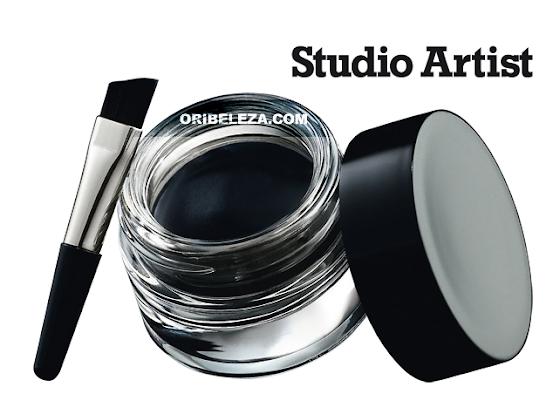 Eyeliner em Gel Studio Artist Oriflame Beauty