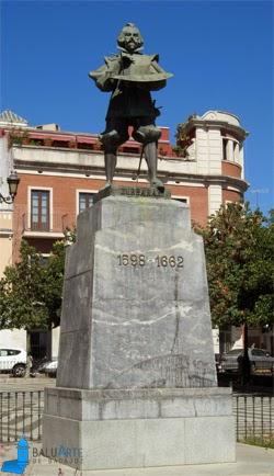 monumento zurbaran badajoz