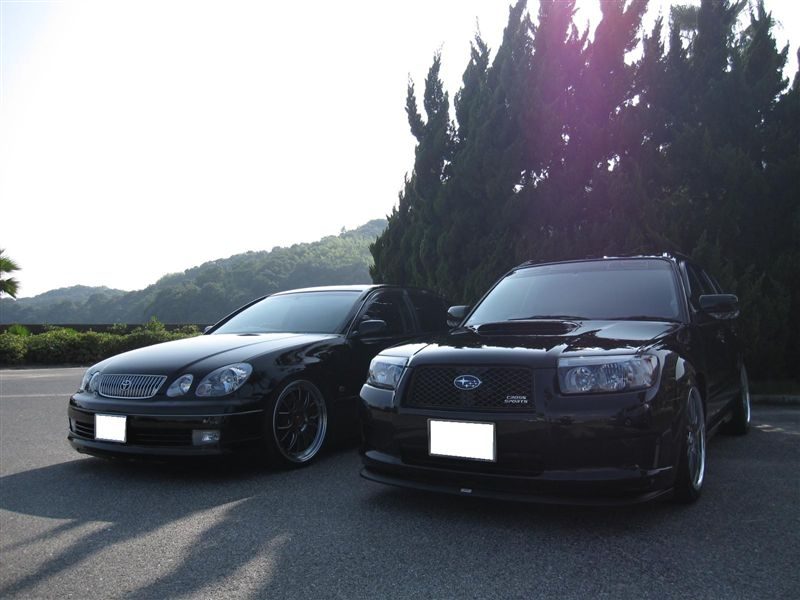 Toyota Aristo & Subaru Forester