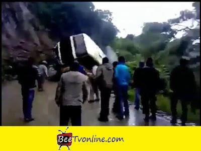 Buss falls Bolivia