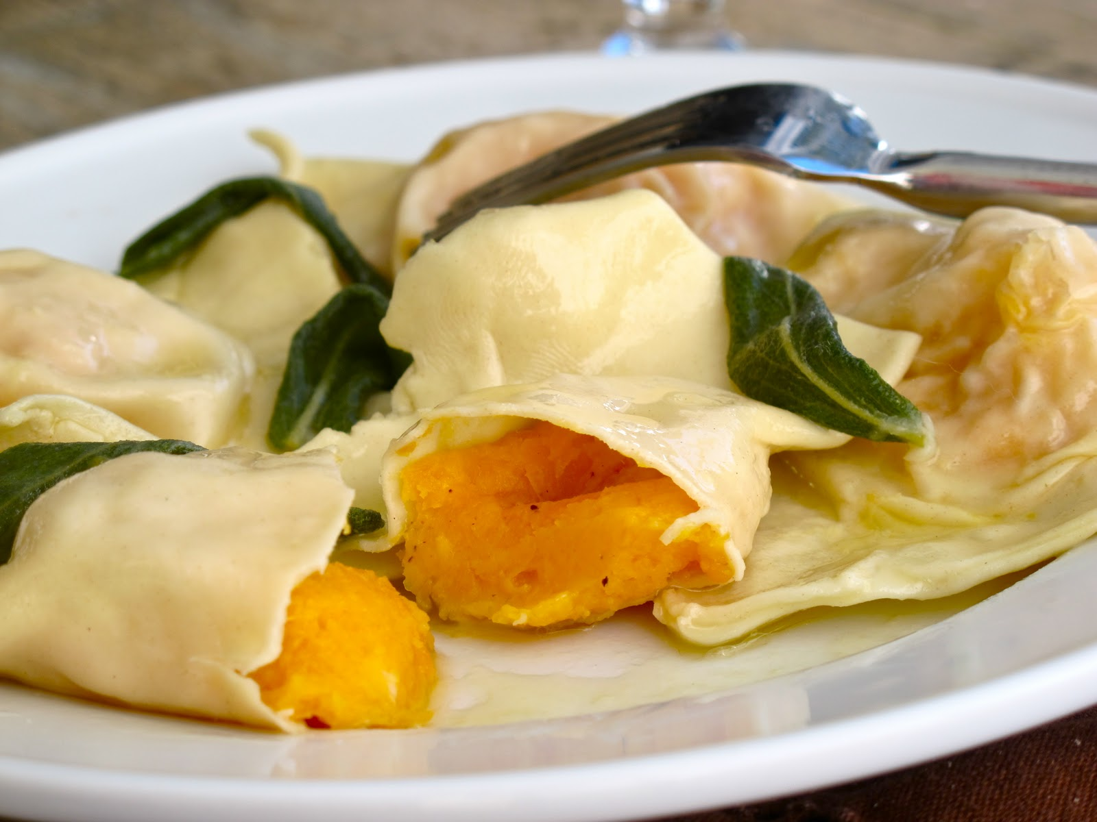 ... Butternut Squash Ravioli with Sage Browned Butter | Fall Entertaining