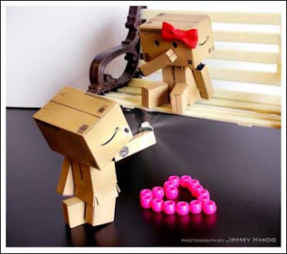 "Danbo said, ""Will you marry me?"""