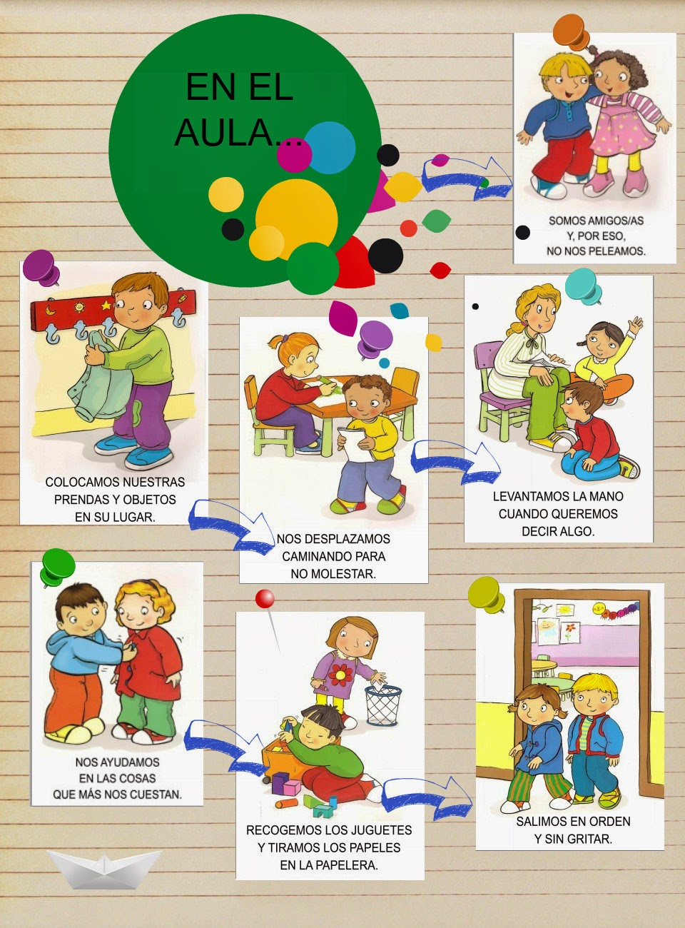 Cultura de paz normas de convivencia en el aula for 10 reglas del salon de clases en ingles