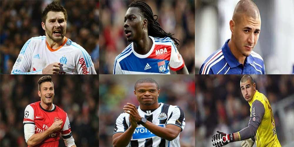 France team FIFA 2014