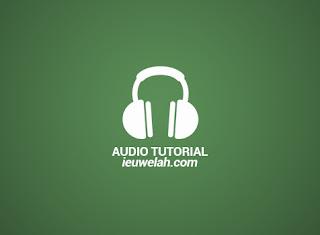 audio editing tutorial ieuwelah
