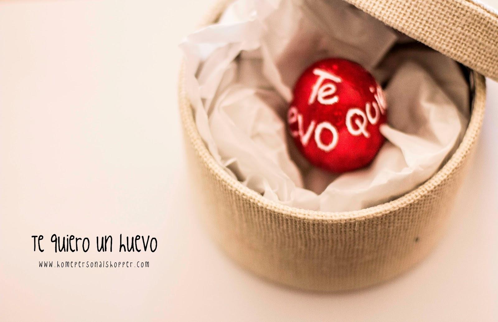 San valentín, manualidades, DIY, homepersonalshopper, te quiero un huevo