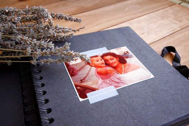 regalo día de la madre scrapbooking notebook blackboard design hermanas bolena