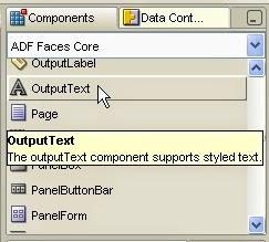 incluir outputtext