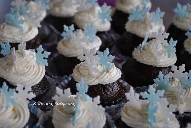 Γενέθλια Frozen : ( ο μπουφές & η διακόσμηση )