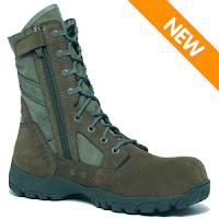 Tactical Boots Zipper7