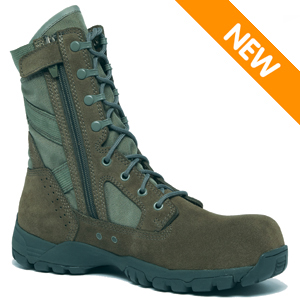 Tactical Boots Zipper7